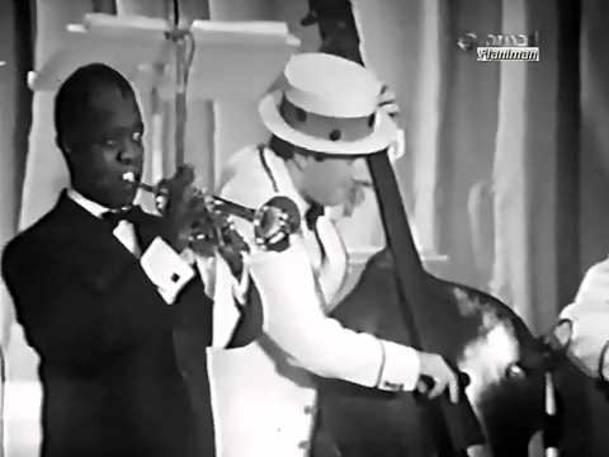 ♫ Louis Armstrong ♪ Mi Va Di Cantare (1968) ♫ Video & Audio Restored HD