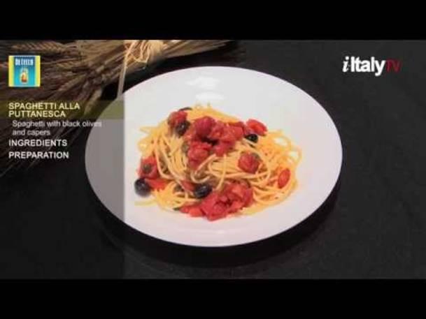 """PastaMania #4. """"Spaghetti alla Puttanesca"""""""